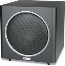 home theater subwoofer amplifier polk audio psw110 black powered subwoofer at crutchfield com