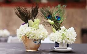 peacock centerpieces centerpieces bridalore