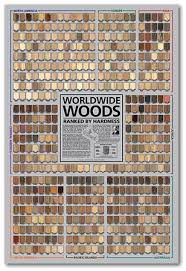 worldwide woods a new poster the wood database