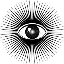 all seeing eye stock illustration illustration of esoteric 65971999