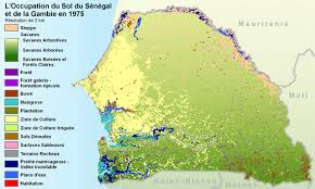 Chad Map Land Cover Applications And Global Change