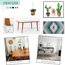 home inspiration southwest modern dining room salt sprig studio