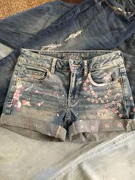25 cute painted shorts ideas on pinterest jean shorts tutorial