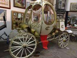 carrozze d epoca berlina della principessa sissi foto di museo mostra permanente