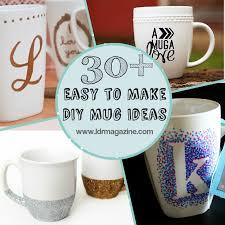 Decorating Porcelain Mugs 30 Easy To Make Diy Mug Ideas Ldr Magazine