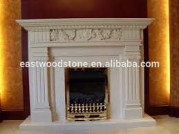 Free Standing Gas Fireplace by Natural Freestanding Gas Fireplace Mantel China Marble Fireplace
