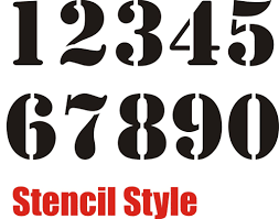 7 best images of small printable stencil numbers 1 10 stencil