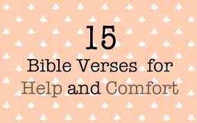 Scripture Verses On Comfort Guest Post 15 Bible Verses For Help And Comfort Skg Fun