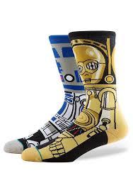 star wars droids r2d2 c3po socks u2013 newbury comics