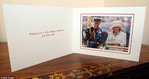 prince charles and duchess of cornwall released christmas card