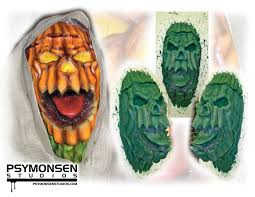 Scarecrow Mask Sculpture Psymonsen Studios