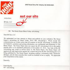 is home depot ad black friday ad out home depot sends us an angry incorrect letter