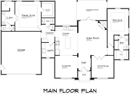 Master Bedroom Suites Floor Plans Luxurious Master Suite In Compact Floor Plan Hwbdo14877 Master