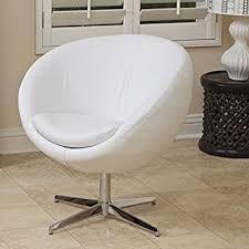 White Accent Chair Sphera Modern Design White Accent Chair Kitchen Dining