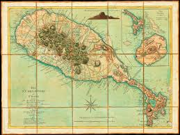 Map Of Caribbean by Map Of St Kitts U0026 Nevis 1779 Ravell Jefferys Le Rouge