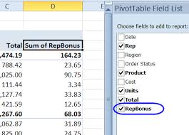 Creating A Pivot Table In Excel Excel Pivot Table Calculated Field