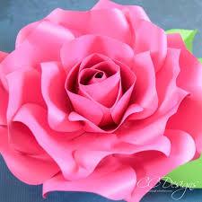 paper roses alora garden paper template tutorial catching