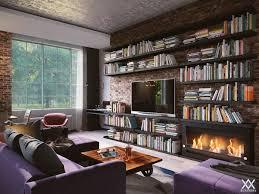 s u0026l loft style apartment on behance home deco pinterest