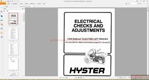 hyster forklift parts and service manual cd3 auto repair manual