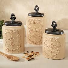 silver kitchen canisters fioritura ceramic kitchen canister set with ceramic canister sets