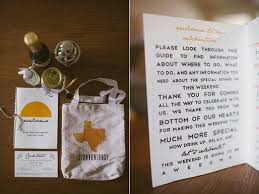 hotel welcome bags desert wedding ruffled