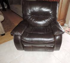 Leather Electric Recliner Chair Macy U0027s Nina Chocolate Leather Electric Dual Reclining Loveseat