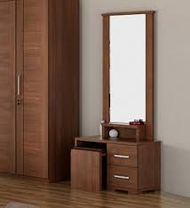 total look rigato buy kosmo grace dressing table in rigato walnut finish by spacewood