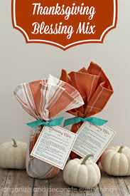 thanksgiving blessing mix organize and decorate everything