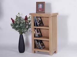 Small Two Shelf Bookcase Rustique Limed Oak Bookcase Small And Narrow With Two Shelves