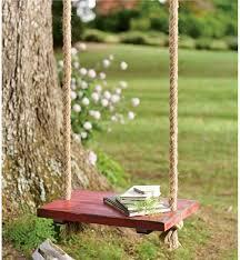 vintage wooden rope swing tree swings plow hearth