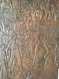 wood carving artwork all around picture of inna samudra