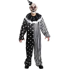 all white halloween mask kill joy clown costume halloween costume walmart com