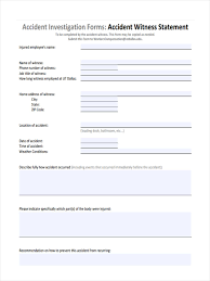 accident incident investigation report template yoga spreadsheet