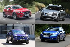 crossover cars 2017 most economical suvs 4x4s and crossovers 2017 auto express