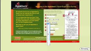 www applebees com survey applebee u0027s survey video by surveybag