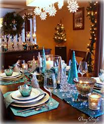 dining delight in teal blue