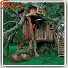 large decorative tree house realistic high quality artificial tree