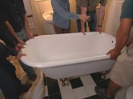 how to reglaze a clawfoot tub how tos diy