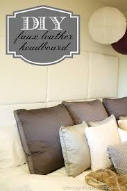 Wood Leather Headboard by Lovely Leather Headboard Diy 55 For Wood Headboards With Leather