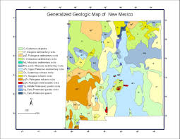 Gallup New Mexico Map by Geochemical Mapping Of New Mexico Usa Using Stream Sediment Data