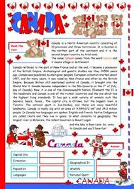 48 free esl canada worksheets