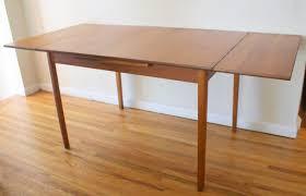 danish modern teak floor l dining room beautiful mid century modern nightstand table and chairs