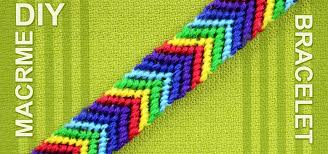 bracelet friendship make images How to make a chevron friendship bracelet jewelry wonderhowto jpg
