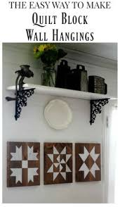 How To Paint A Barn Quilt How To Make Farmhouse Quilt Block Signs Cottages Signs And How