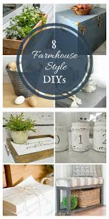 8 farmhouse style diy projects merry monday link party twelve