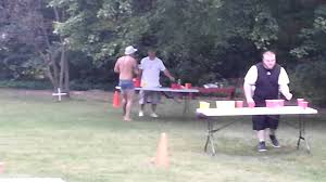 beer olympics obstacle course youtube