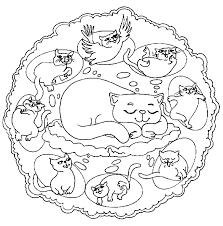 printable 24 animal mandala coloring pages 8955 animal mandalas