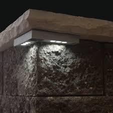 retaining wall lights under cap retaining wall lights tri north lighitng inc
