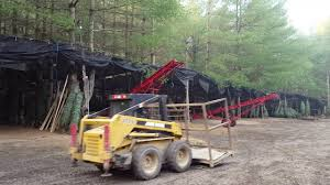 loading at smokey holler tree farm laurel springs nc youtube