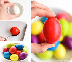 how to color easter eggs how to dye super bright easter eggs with a shiny finish